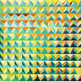 Modern triangular pattern Royalty Free Stock Photography