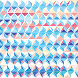 Modern triangular pattern Stock Photography