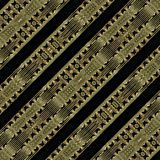 Modern Tribe Geometric Pattern Royalty Free Stock Photos