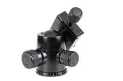 Modern tripod ball head on white background Stock Images