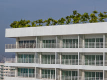 Modern tropical condo Stock Image