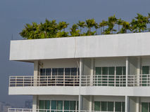 Modern tropical condo Royalty Free Stock Photography