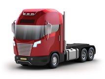 Modern truck Stock Image