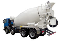 Modern truck mixer Stock Photography