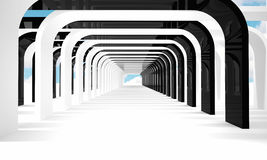Modern tunnel Royalty Free Stock Photo