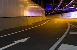 Modern Tunnel Interior Royalty Free Stock Image