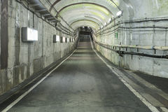 Modern tunnel for road vehicles transportation Stock Photo