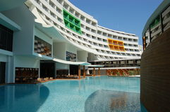Modern Turks hotel Stock Fotografie