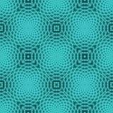 Modern Turquoise Seamless Pattern stock photo