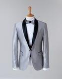 Modern Tuxedo  on Grey background Stock Image