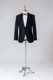 Modern Tuxedo isolated on Grey background Stock Photos