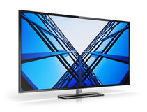 Modern TV Stock Images