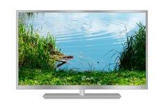 modern tv för lcd Arkivfoto