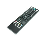 Modern tv remote Royalty Free Stock Image