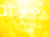 Modern twisted light yellow background Stock Photos