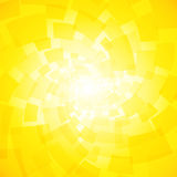 Modern twisted light yellow background Stock Images