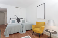 Modern two bedroom house Royalty Free Stock Photography