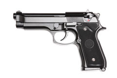 Modern U.S. Army M9 handgun. Royalty Free Stock Image