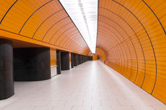 Modern underground Stock Photos