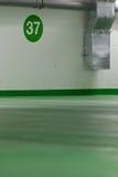 Modern underground parking Stock Photos
