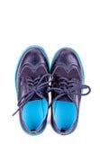Modern unges skor Fotografering för Bildbyråer