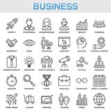 Modern Universal Business Icons Set. Working Stock Photos