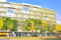 Modern university architecture in Asia Royalty Free Stock Photo