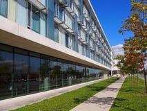 Modern university campus Stock Images
