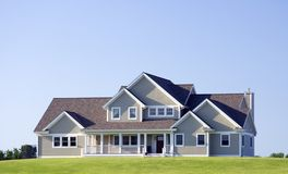 Modern Upscale Home Royalty Free Stock Photo