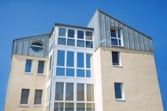 Modern urban apartment building Stock Photos