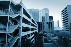 Modern urban architecture Royalty Free Stock Photos