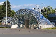 Modern urban architecture . Underground pedestrian crossing Stock Image