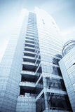 Modern urban building Royalty Free Stock Images