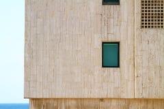 Modern urban building exterior Royalty Free Stock Photo