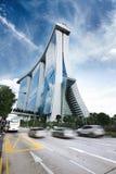Modern urban building Royalty Free Stock Image