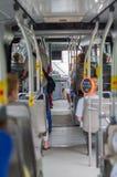 Modern urban bus Stock Photo