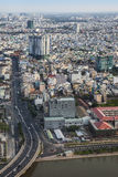 Modern Urban City, Ho Chi Minh City, Vietnam. Royalty Free Stock Photos