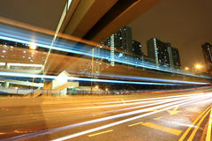 Modern urban city night Stock Image