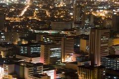 Modern Urban City At Night Stock Images