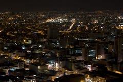 Modern Urban City At Night Stock Photography