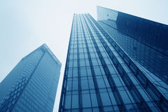Modern urban commercial buildings Stock Photography