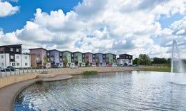 Modern urban housing Royalty Free Stock Images
