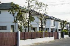Modern urban housing. Modern housing in Thailand Royalty Free Stock Image