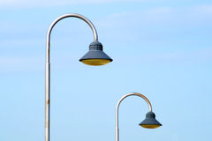 Modern urban lampost Royalty Free Stock Photography