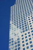 Modern urban office buildings. In an abstract pattern Royalty Free Stock Photo