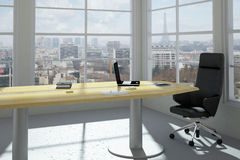 Modern urban office room Royalty Free Stock Photo