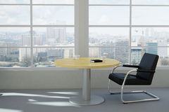 Modern urban office room Royalty Free Stock Photography