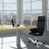 Modern urban office room Royalty Free Stock Photos