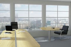 Modern urban office room Royalty Free Stock Image