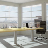 Modern urban office room Stock Photography